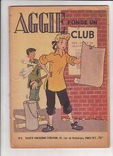 AGGIE 5. Fonde un Club. SPE EO 1952.