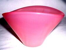 Rosa Opalglas Schale von Kosta Boda signiert LH 187/ 1