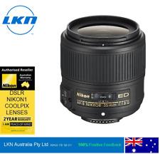 Nikon Nikkor AF-S 35mm f1.8G Lens, 2-Year Warranty