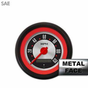 Speedo Ga. - SAE Amer Retro Rod Rd Rng V, Rd Mod Nedl, Black Trm Rngs Kit DIY