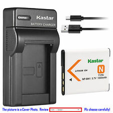 NP-BN1 BC-CSN Battery or Slim Charger for Sony Cyber-shot DSC-TX200V TX20 TX30