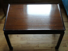 Saybolt & Cleland Chinese Antique Ming‑style Turned‑edge Side Coffee Table Rare