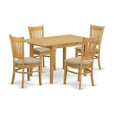 5 PC Table and chairs set - Kitchen dinette table and 4 kitchen dining chairs