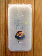 Funda de silicona (case - cover) con frases para Samsung Galaxy S6 EDGE PLUS