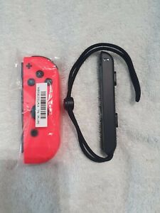 Official Nintendo Switch Neon Red RIGHT Joy-Con Controller - NEW HAS DRIFT