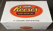 24 x Reeses Reese's 2 Arachidi Butter Cups con Burro di 42g bianco 48