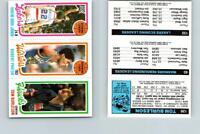 1980 Topps Basketball 126 Burleson & 93 Parish & 132 Abdul Jabbar See Scan