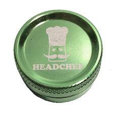 Head Chef Small Aluminium Metal Herb & Spice Grinder 30mm 2 Part Green