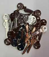 50x TO9RY16 für TOK Sonderprofil Anlage Rohling Anlageschlüssel Keyblank