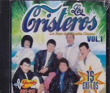 Los Cristeros Los Reyes de la Cumbia chicana Vol 1 15 exitos CD New Nuevo Sealed