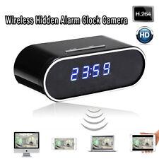 Wi-Fi sans fil vision nocturne Espion Horloge Caméra Caméscope LED Full HD 1080P
