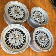 "BBS RA 184 ""Mahle"" 7x15"" wheels rims EURO rare Mercedes Benz W123 W114 W115 W107"