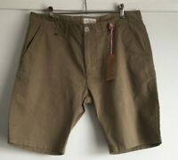 Lee Cooper Mens Shorts Bradwell Print Chino Short Stone Size 34 BNWT