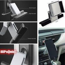 Voiture CD Slot téléphone GPS Sat Nav titulaire monter pour 3,5 à 5,5 pouces Samsung iPhone 5 6 7