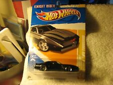 KNIGHT RIDER ~ HOT WHEELS PREMIERE CARD ~ WITH PROTECTOR! NICE! EJ