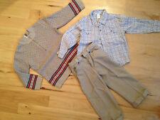 JANIE & JACK Pants Shirt Sweater Set LOT CHRISTMAS HOLIDAY GIFT BOYs 4T and 4