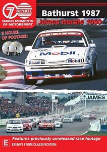 Bathurst 1987 - James Hardie 1000 DVD - Brand new - Region 4 Free post!
