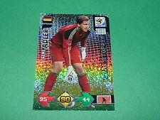 ADLER DEUTSCHLAND  PANINI FOOTBALL FIFA WORLD CUP 2010 CARD ADRENALYN XL
