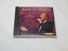 Greatest Hits Recorded Live from Moon River Theater by Andy Williams CD 1994