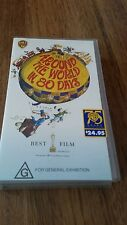 AROUND THE WORLD IN 80 DAYS. SHIRLEY MACLAINE, DAVID NIVEN  - VHS VIDEO