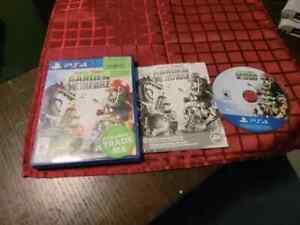 Plants vs. Zombies: Garden Warfare (Sony PlayStation 4 2014) Complete CIB VG PS4