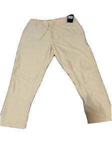 NWT Nike Golf Flex Men's Dri-Fit Yellow Pants AV4123-294 Size 38 Retail $85
