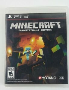 Minecraft (PlayStation 3, 2014) Pre owned, great condition