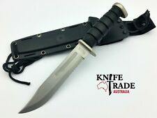 Frost cutlery 15-414M Combat Knife +Sheath WWII Ka Bar inspired design Tactical