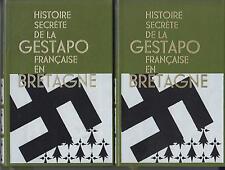 AZIZ Philippe. Histoire secrète de la gestapo française en Bretagne (2 volumes)