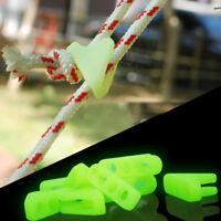 Eg _ LC_ Fh- Fluorescente Triangolo Fibbia Corda di Blocco Campeggio Sicuro