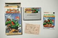 Super Famicom Super Wagyan Land boxed Japan SFC game US Seller