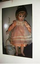 "1988 Georgetown Collection ""TeaTime for Emma"" Doll COA Pre-owned"