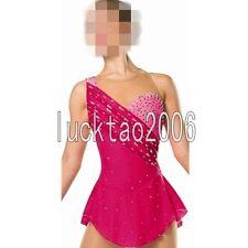 2018 new style Figure Skating Ice Skating Dress Costume Sparkle Brand New 8860