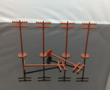 42102 Bachmann HO Scale Telephone Poles (48 pieces) new