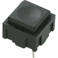 Switch Push Button Miniature PCB Black Press