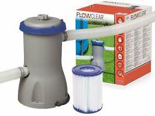 Filterpumpe Flowclear BestWay 3.028 l/h Filter Poolreinigung Pumpe 58386 EXTRA