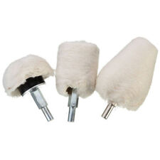3 Pcs Polishing Buffing Pad Mop Kit for Manifold,Aluminum,Stainless Steel,Chrome