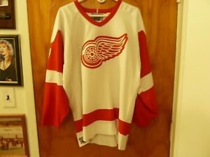 Detroit Red Wings Vtg Hall of Famer #77 Paul Coffey Throwback Jersey