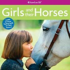 American Girl Girls and Their Horses Book Camela Decaire NEW