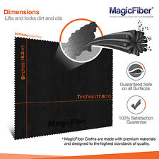 6 x MagicFiber Microfiber Camera Lens Screen Ipad Glass Cleaning Cloths