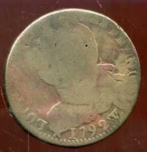 LOUIS XVI  2 sols 1792 W ( 1 )