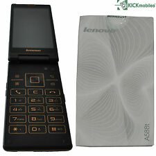 NEW LENOVO A588T 4GB DUAL SIM FACTORY UNLOCKED FLIP PHONE ANDROID 3G SIMFREE
