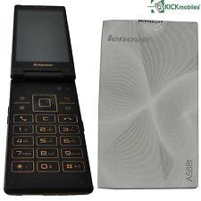 NUOVO Lenovo a588t 4gb Dual SIM sbloccato di fabbrica FLIP TELEFONO ANDROID SIMFREE 3g