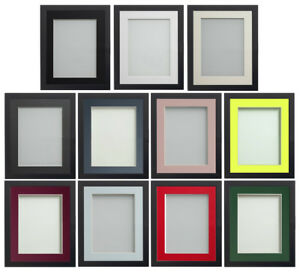 Frame Company Allington Range Black Picture Photo Poster Frames with Photo Mount