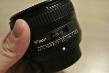 [Sehr Guter Zustand] Nikon AF-S NIKKOR 50mm 1:1.8 G Standardobjektiv