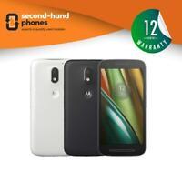 Motorola Moto E3 XT1700/Moto E (3rd Gen) Black/White Unlocked Android Smartphone