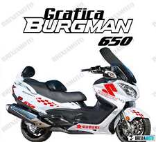 ADESIVI GRAFICA RACING SUZUKI BURGMAN 650 STICKERS CARENA ROSS ADESIVO 2005 2014