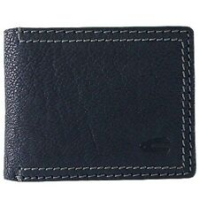 New Camel Active Men's Genuine Leather Wallet Coin Purse Card Holder Black