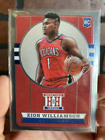 2019-20 Panini Chronicles Zion Williamson Hometown Heroes Silver #552