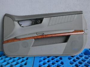 MERCEDES CL600 V12 C216 Türverkleidung vorne rechts Leder Basaltgrau Walnuss